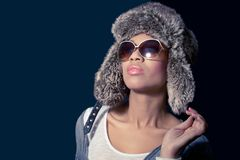 Winter fashion-2 Royalty Free Stock Photography