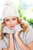 Winter fashion Stock Photos