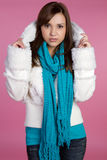 Winter Fashion Girl Royalty Free Stock Photos
