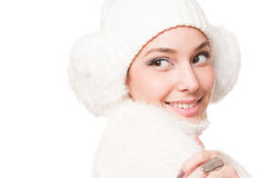 Winter fashion. Stock Images