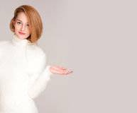 Winter fashion. Stock Photo