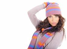 Free Winter Fashion Portrait Of Woman Royalty Free Stock Photos - 7614858
