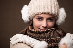 Winter fashion Stock Image