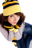 Winter fashion woman Stock Photography