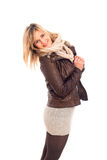 Winter fashion woman Royalty Free Stock Photography