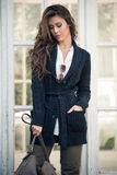 Winter fashion woman Royalty Free Stock Images