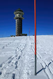 Winter on the Feldberg in the Black Forest Royalty Free Stock Image