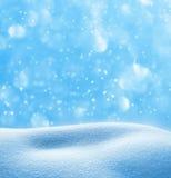 Winter festive background Stock Photos
