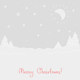 Winter festive background Stock Photos
