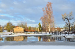 Winter in Finland Stock Photography