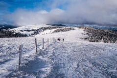 Winter Fischbacher Alpen mountains in Styria Stock Photography