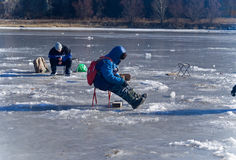 Winter Fishing 43 Royalty Free Stock Images