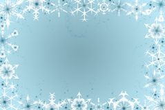 Winter Flakes Stock Photography