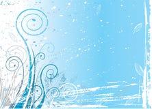 Winter flora. Background, vector illustration eps file stock illustration
