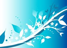 Winter Floral. Illustration of Winter time floral patterns Stock Photo