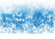 Winter floral Stock Photography