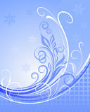 Winter floral background. Stock Photography