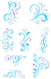 Winter floral elements. Vector illustration for winter design Royalty Free Stock Photography