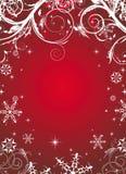 Winter floral illustration Stock Photos