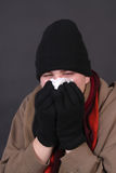 Winter flu Royalty Free Stock Photo