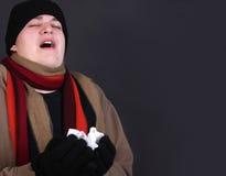 Winter flu Stock Image