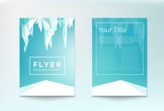 Winter flyer Stock Photo