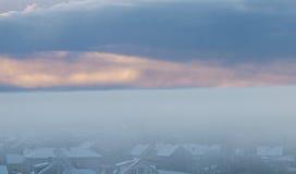 Winter fog Royalty Free Stock Photos