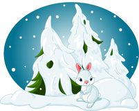 Winter_forest Royalty Free Stock Images