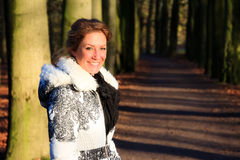 Winter forest portrait Stock Photography