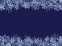 Winter Frame Stock Image