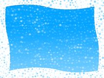 Winter frame. Illustration winter frame. Computer generated Royalty Free Stock Images