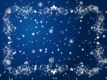 Winter frame Royalty Free Stock Images