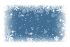 Winter frame background Royalty Free Stock Photo