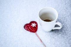Winter-Freude Stockbild