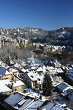Winter in Fribourg Stock Image