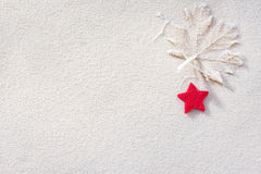 Winter frost background Royalty Free Stock Photography