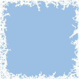 Winter frost background, vector  Royalty Free Stock Image