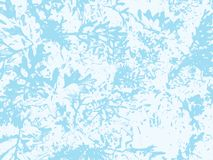 Winter frosted glass abstract background. Frozen window realistic texture. Snow backdrop. Vector illustration. Light blue color. Nature cold ice effect pattern royalty free illustration