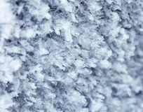 Winter frostwork pattern Royalty Free Stock Images