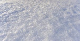 Winter snow background, blue color, snowflakes, Winter snow background, blue color, snowflakes, sunlight, macro. Winter frosty morning. Winter snow background stock image