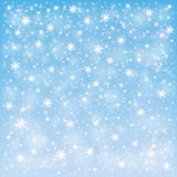 Winter frosty snow background Stock Photos