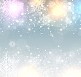 Winter frozen background Royalty Free Stock Images