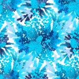 Winter frozen pattern Stock Images