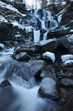 Winter frozen waterfall Royalty Free Stock Photography
