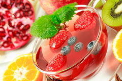 Winter Fruit Tea Stock Images