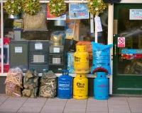 Winter Fuel on Sale Stock Image