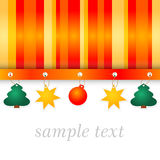Winter full color background with stripes Stock Photos