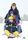Winter fun Stock Photos
