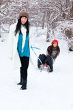 Winter fun Royalty Free Stock Images