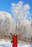 Winter fun Stock Photo